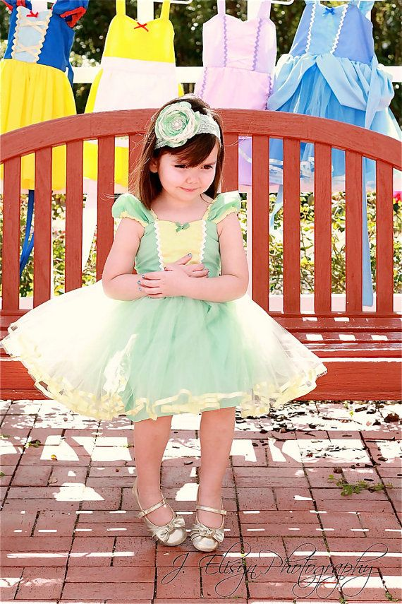 TIANA DRESS This is a fun new tutu dress for your little girl. This ...