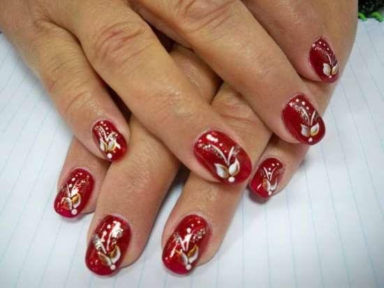 40 Creative Christmas Nail Art Designs Nail Design Ideaz Nail