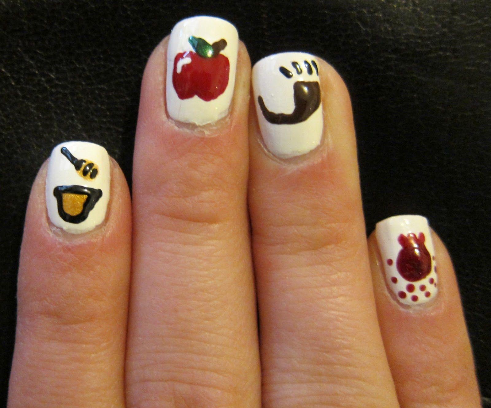 rosh hashana Holiday manicures, Rosh hashanah, Manicure