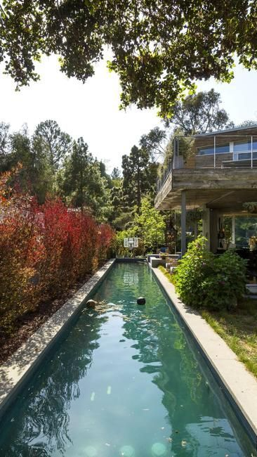 Solar Lap Pools Awesome Rustic Canyon Home Is A Natural Beauty  Home Solar And Beauty