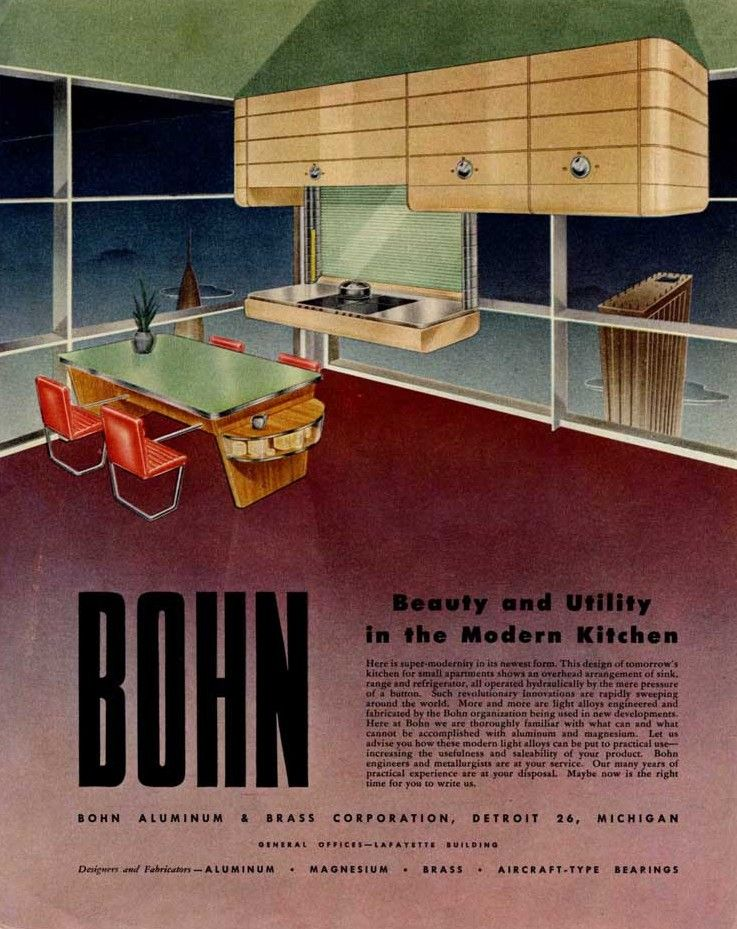 Bohn's 'Visions of the Future' Ads, 1940s - Retronaut