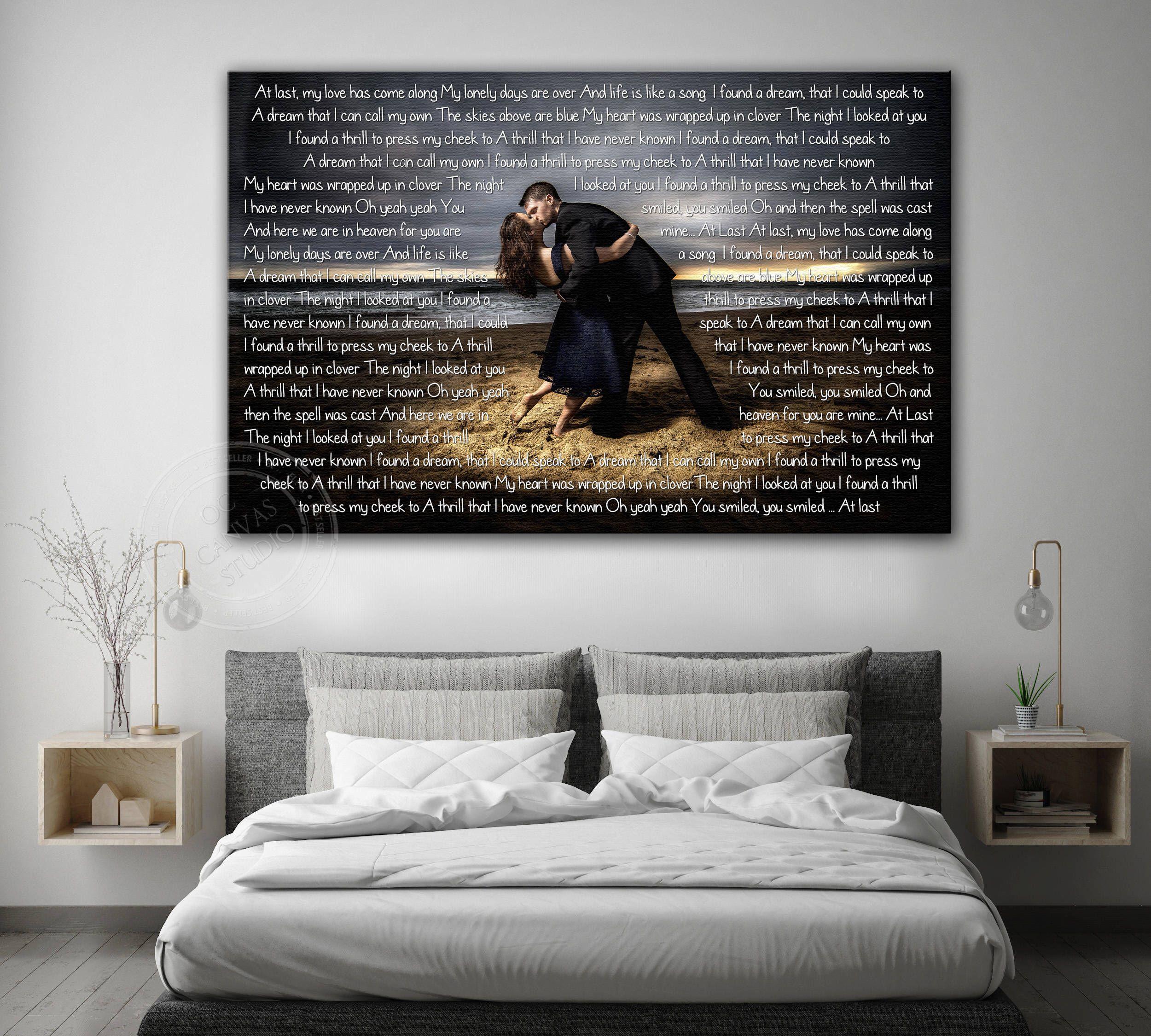 Custom Canvas Print, Framed Canvas Print, Cotton Canvas Print, Wedding