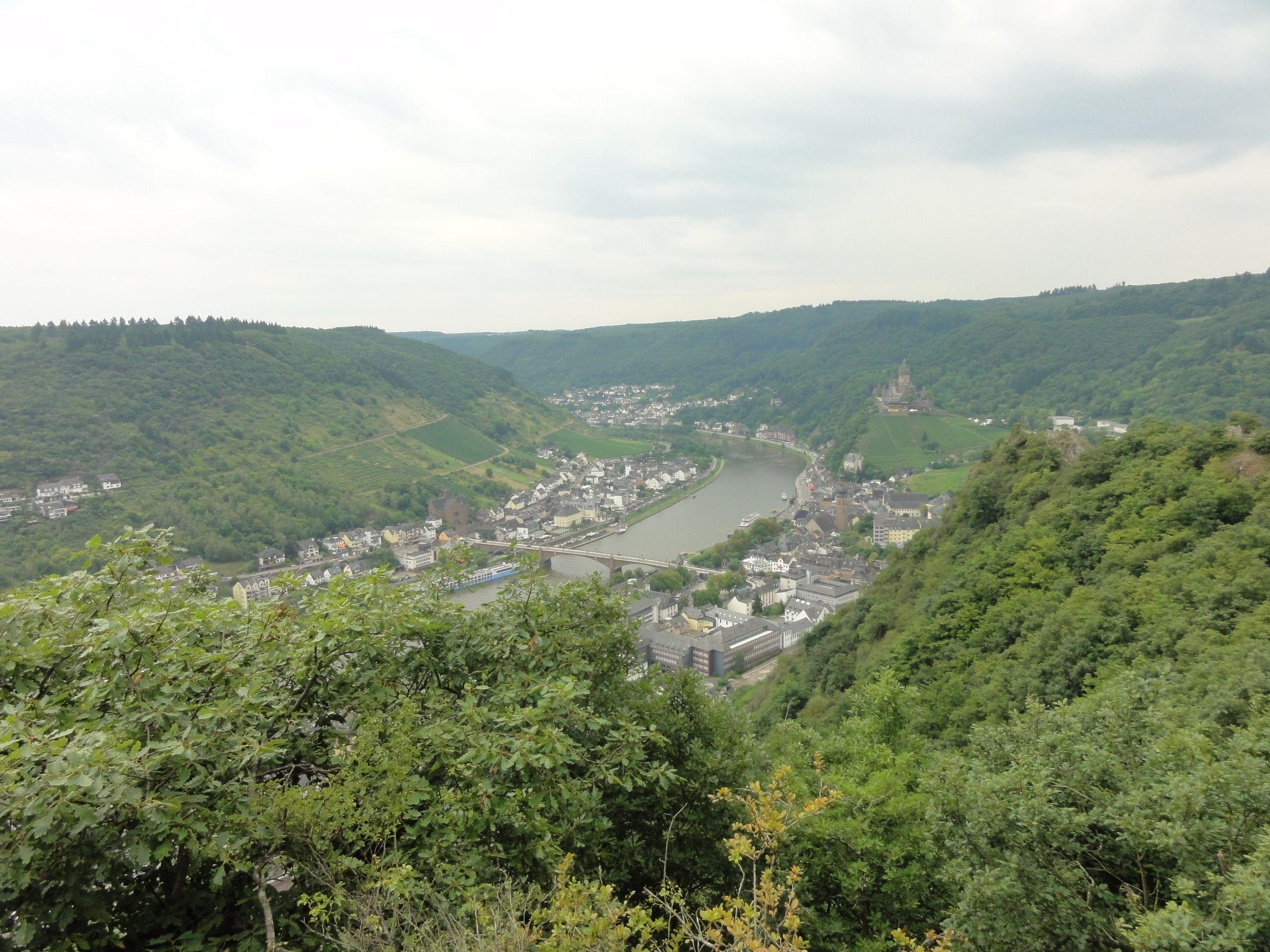 Cochem/Cond aan de Moezel, Duitsland