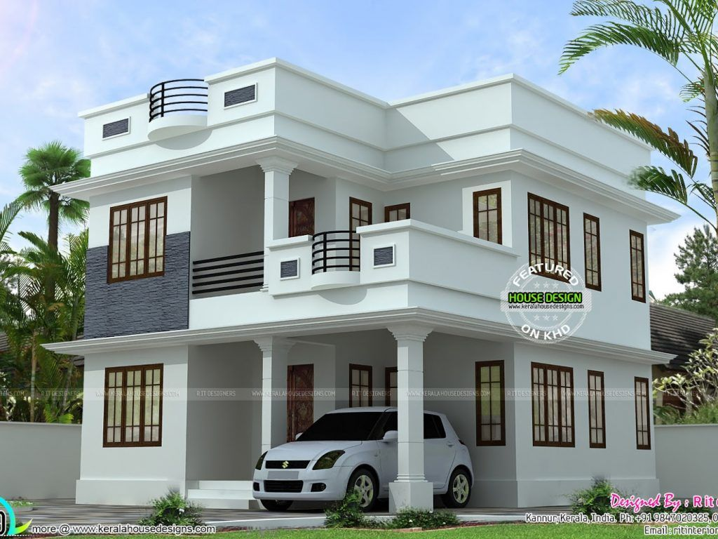 Pin by khader farah on home in 2019 kerala house design - Simple modern house design ...