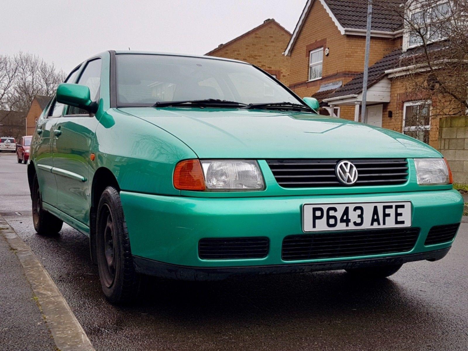 eBay: VOLKSWAGEN POLO MK3 1.6 CL SALOON VW LIKE JETTA GREEN 1997 MANUAL  SPARES REPAIR #carparts #carrepair