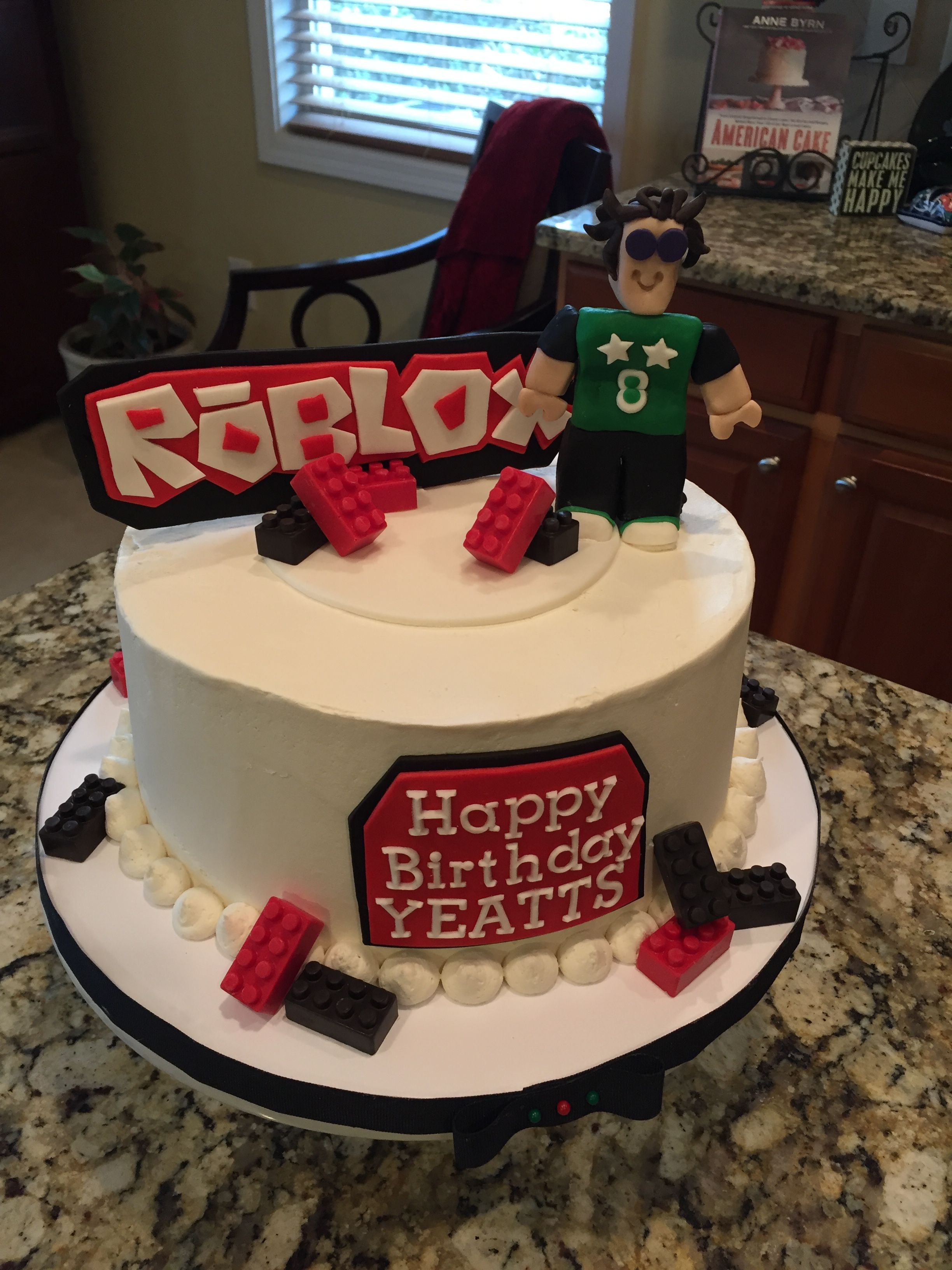 Roblox Cake Theme Happy Birthday Yeatts Roblox Birthday Cake