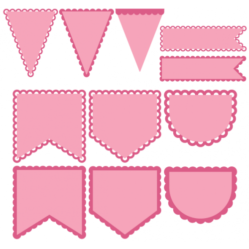 Bird's Free Svgs Pennant Shapes Everything Free for