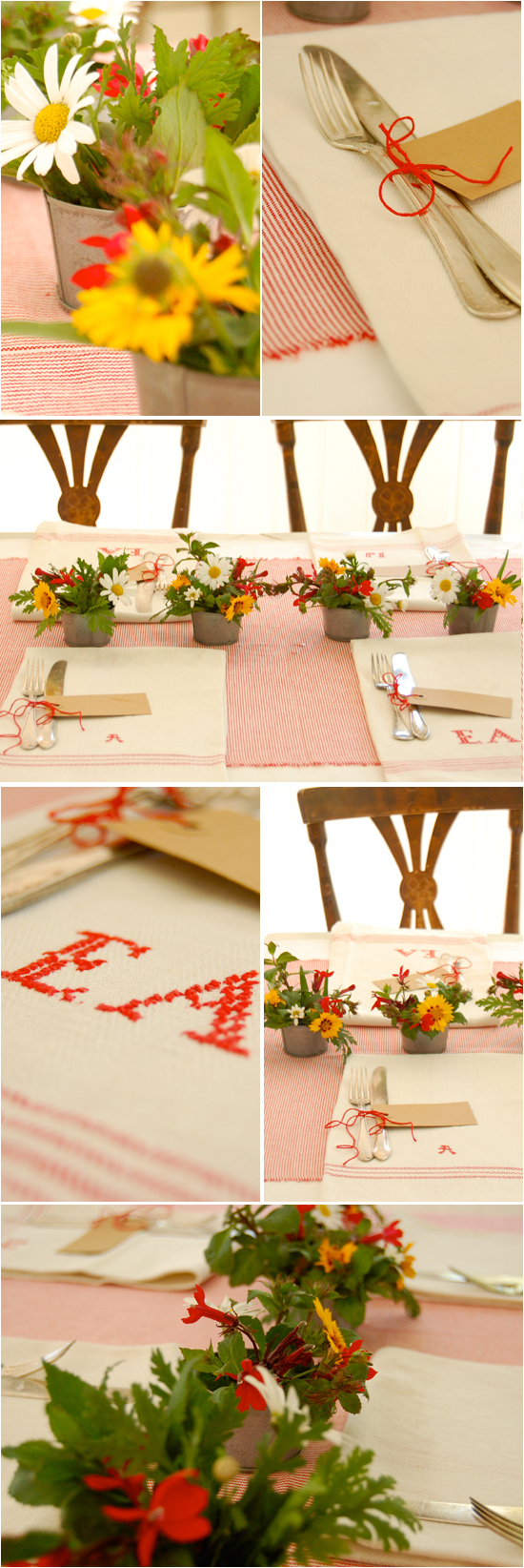 DIY: The Farm-Inspired Table Setting - Project Wedding