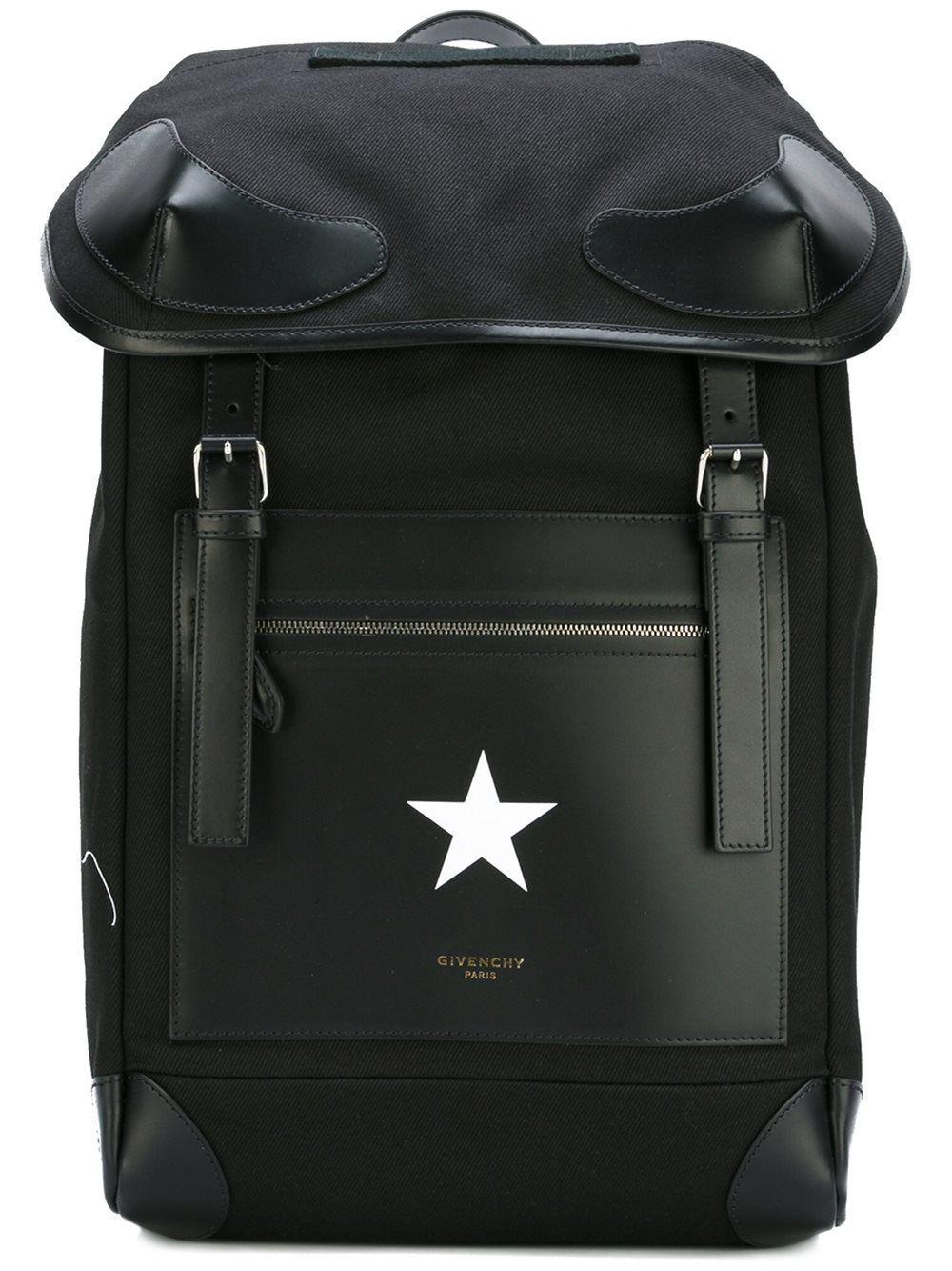 a0da88bd8342 givenchy  rider  backpack  black  white  star  menswear www.jofre.eu ...