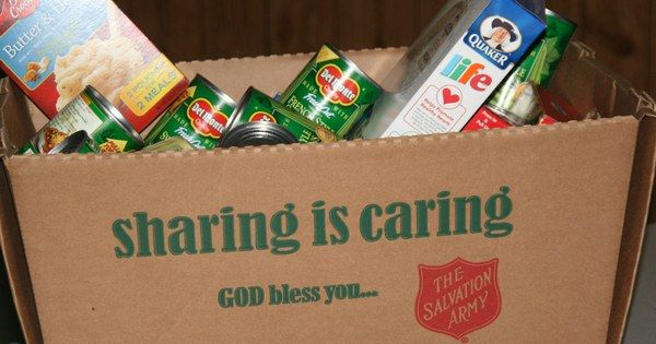 With Thanksgiving Approaching There Are Loads To Be Thankful For Food Pantry Food Shelf Salvation Army
