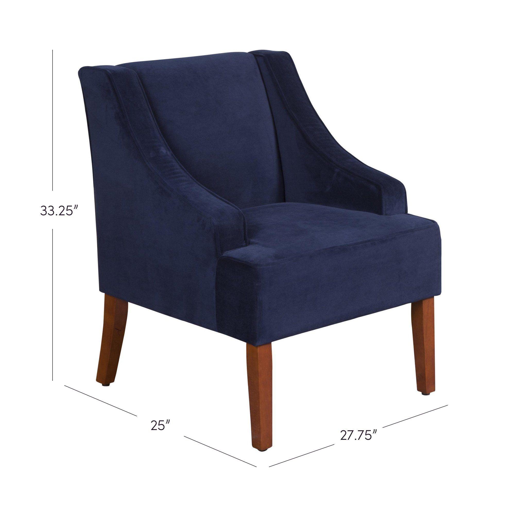 Astounding Krantz Swoop Armchair Future Casa Velvet Accent Chair Evergreenethics Interior Chair Design Evergreenethicsorg