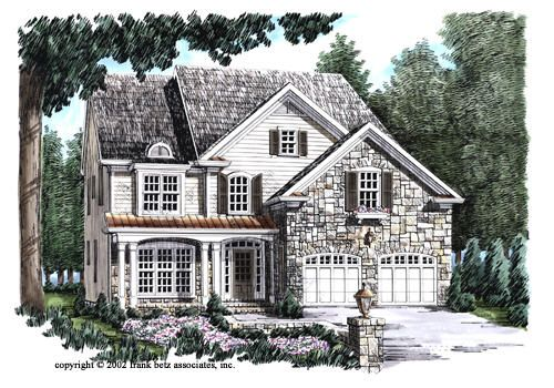 Morristown - Home Plans and House Plans by Frank Betz Associates