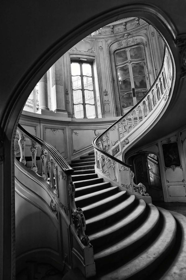 Old Charm - Art Nouveau Staircase | Stairs, Stairways ...