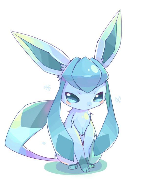 Glaceon eevee pok mon pokemon eevee pokemon eeveelutions - Givrali pokemon ...