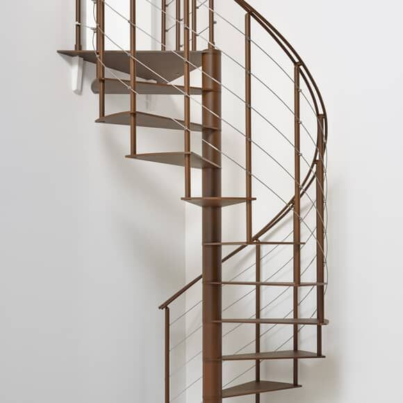Best Fontanot Slim Staircase Design Spiral Staircase Kits 640 x 480
