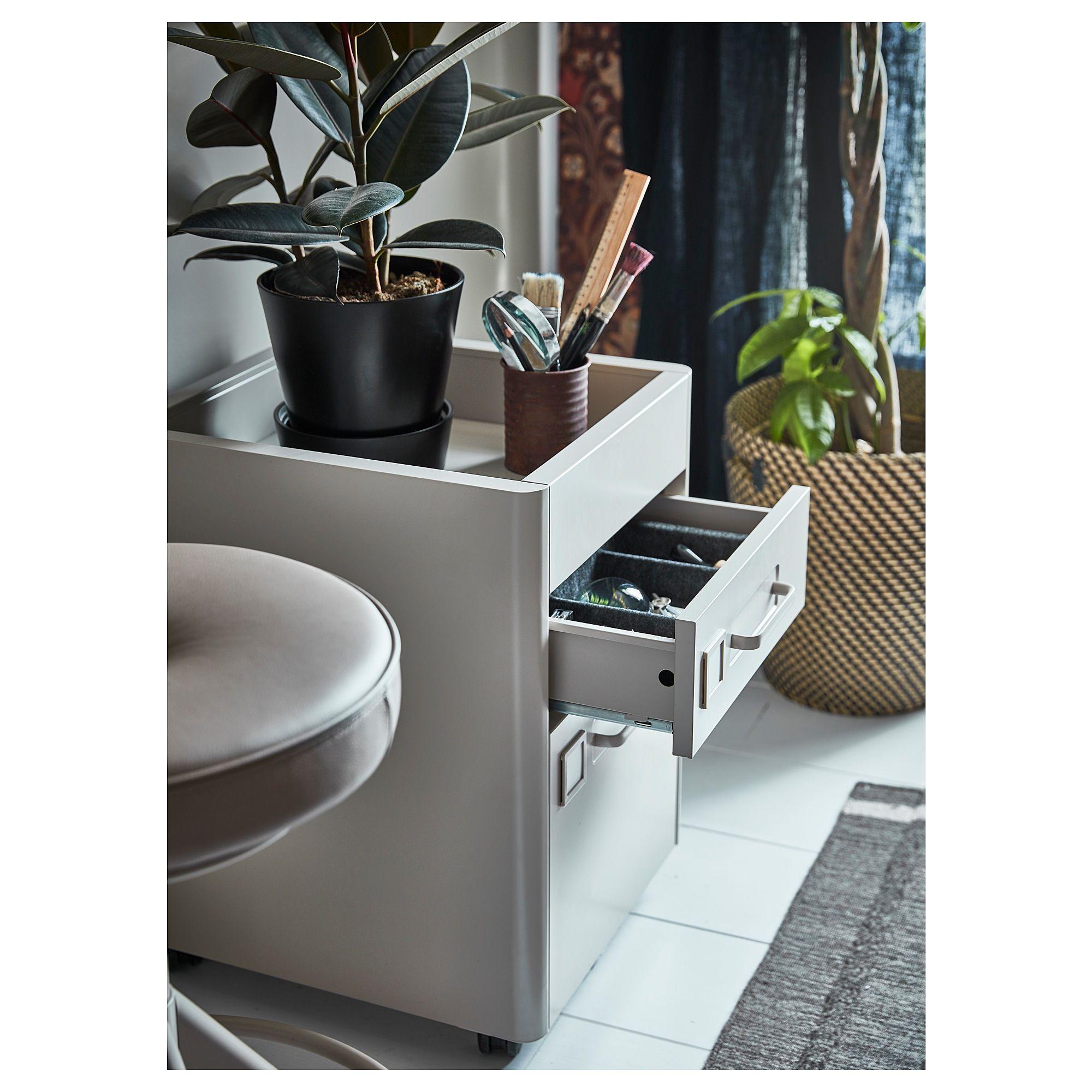 IKEA IDÅSEN Drawer unit on casters beige Drawer unit