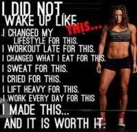 54 Trendy Fitness Motivation Models Work Outs #motivation #fitness