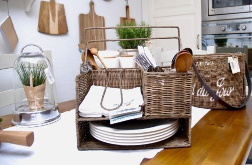 Riviera maison rattan bureau organizer diverse home office jolijt