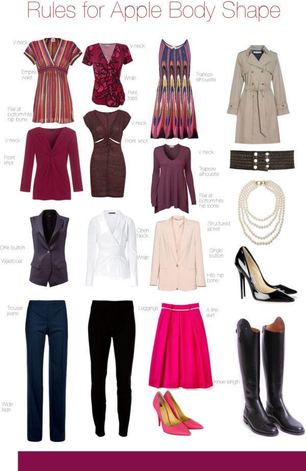 c36405d95dd Rules for Apple Body Shape | Style: Wear | Apple shape outfits ...