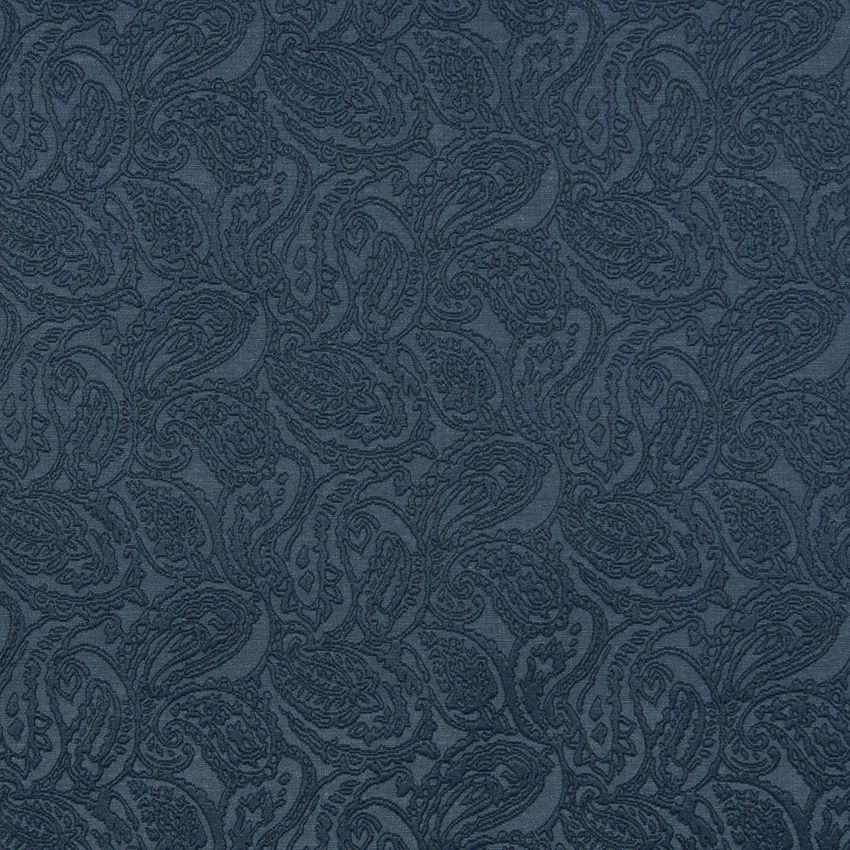 Delft Blue Woven Tone On Tone Paisley Brocade Upholstery Fabric Upholstery Fabric Paisley Fabric Upholstery