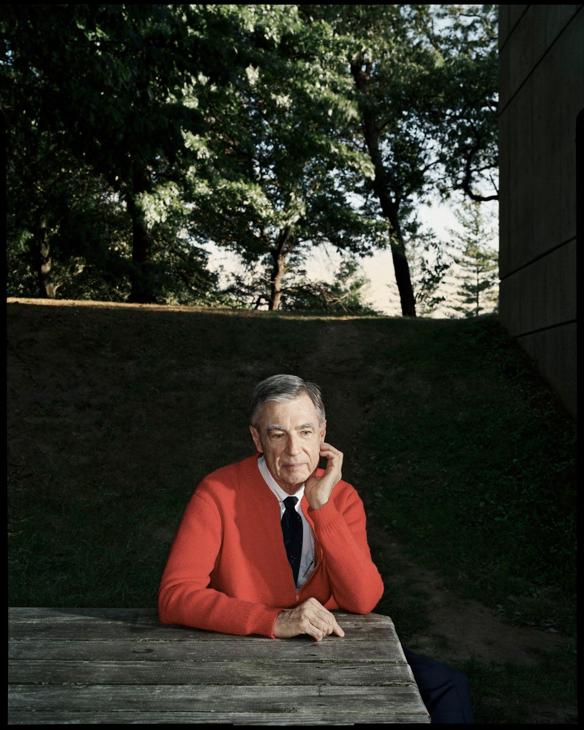Fred Rogers Pittsburgh Pa Esquire Magazine C Dan Winters Photography Free Crochet The Neighbourhood Dan Winters Photography