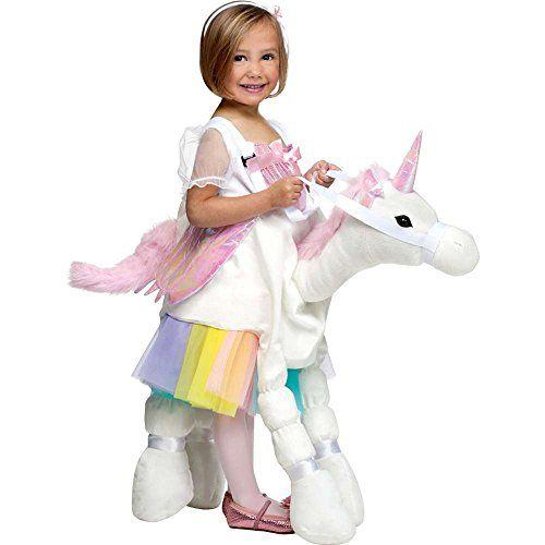 Fun World Unicorn Costume Multicolor Small 4-6