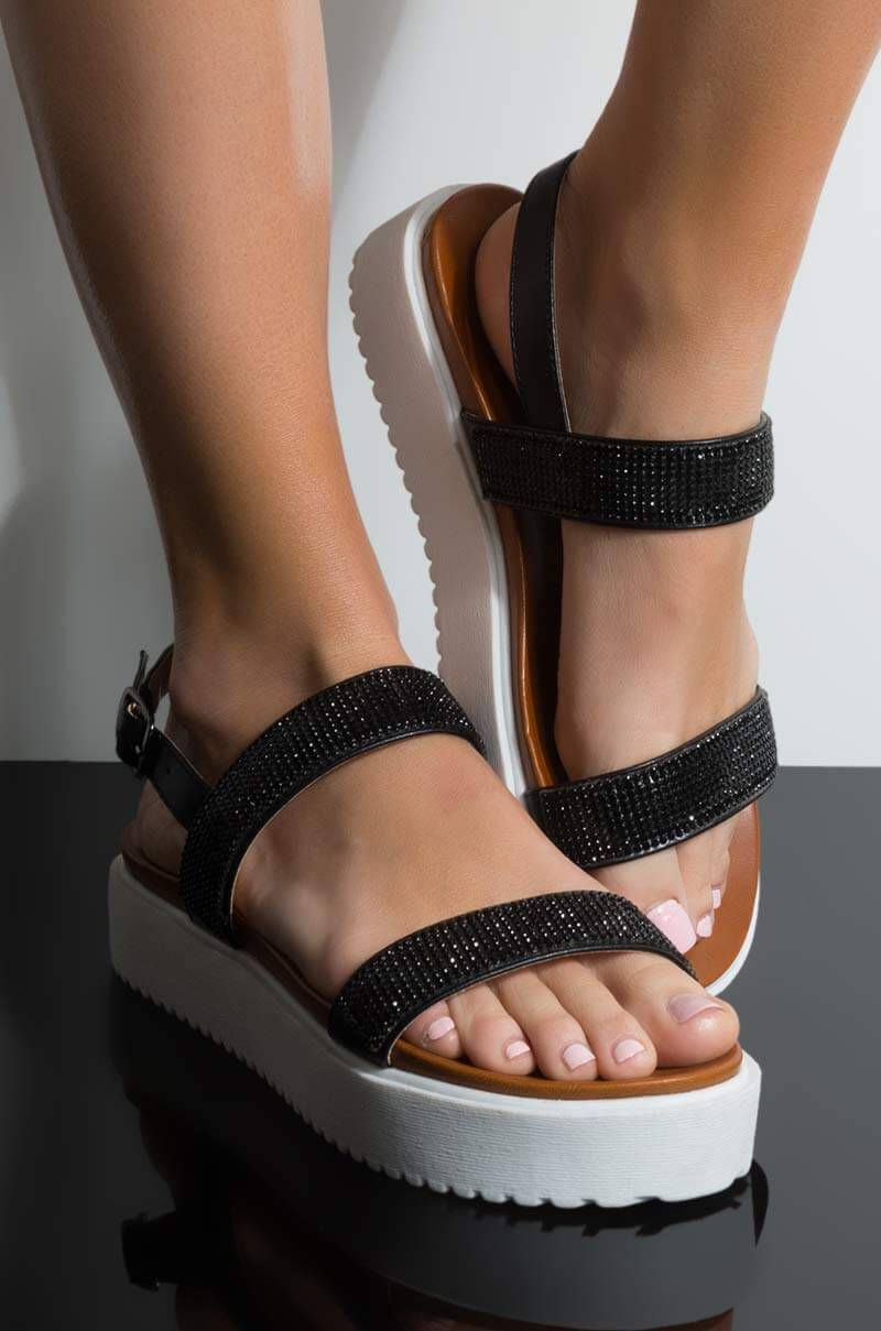 SUGAR AND SPICE EMBELLISHED TWO STRAP