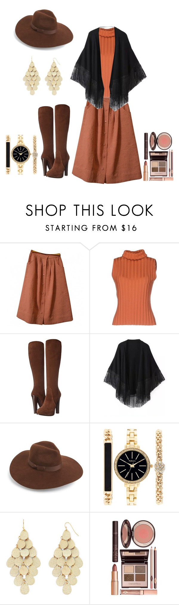 """Untitled #2635"" by empathetic ❤ liked on Polyvore featuring ASOS, DuÅ¡an, Ralph Lauren Collection, Relaxfeel, Lack of Color, Style & Co., Bold Elements and Charlotte Tilbury"