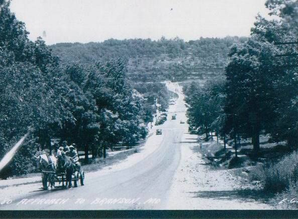 """BRANSON """"76 STRIP"""" IN THE EARLY 1900'S ! 