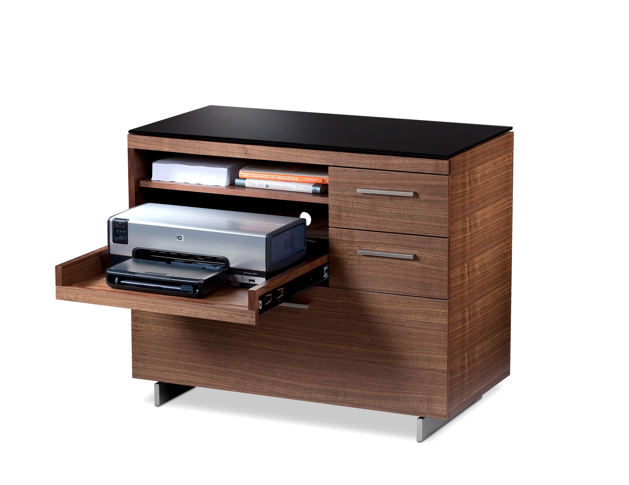 Sequel Multifunction Cabinet 6017 Hip Printer Storage Small Space Office Office Storage Cabinets