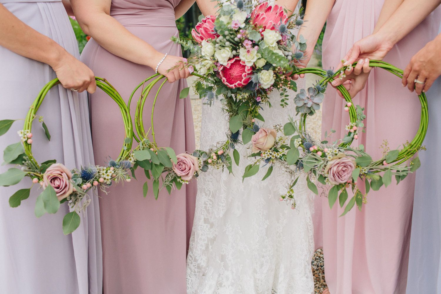 Corsages instead of bouquets? 1