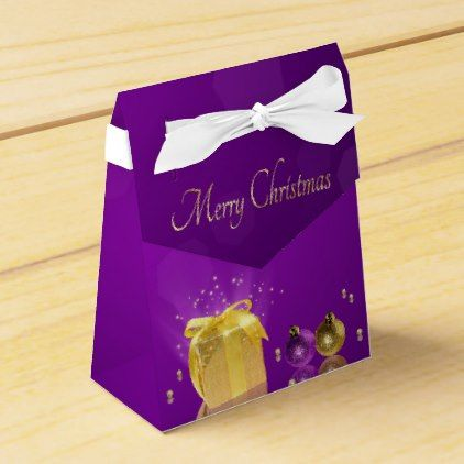 Golden christmas gift box favor box tent negle Images