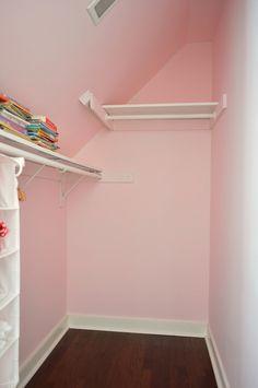 1000 Ideas About Slanted Ceiling Closet On Pinterest Attic Attic Closet Slanted Ceiling Closet Simple Closet