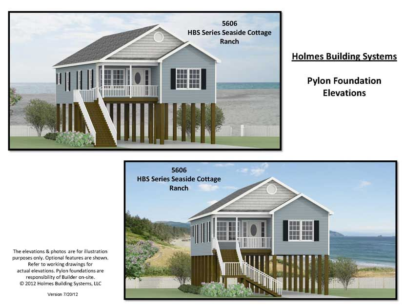Marvelous Coastal House Plans On Pilings (With images ...