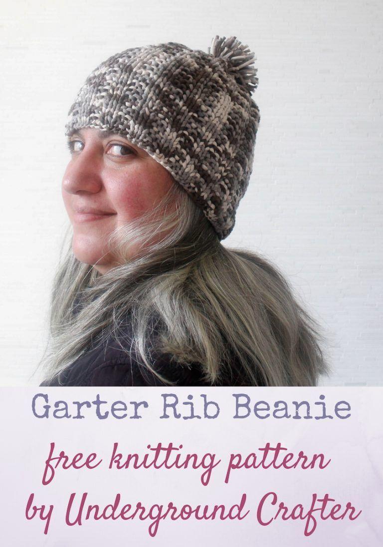 a73e6b9443d Garter Rib Beanie