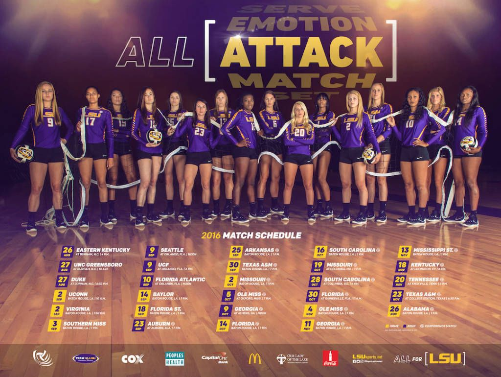 Pin By Jason Marcy On Volleyball Posters Volleyball Posters College Sports Graphics Lsu