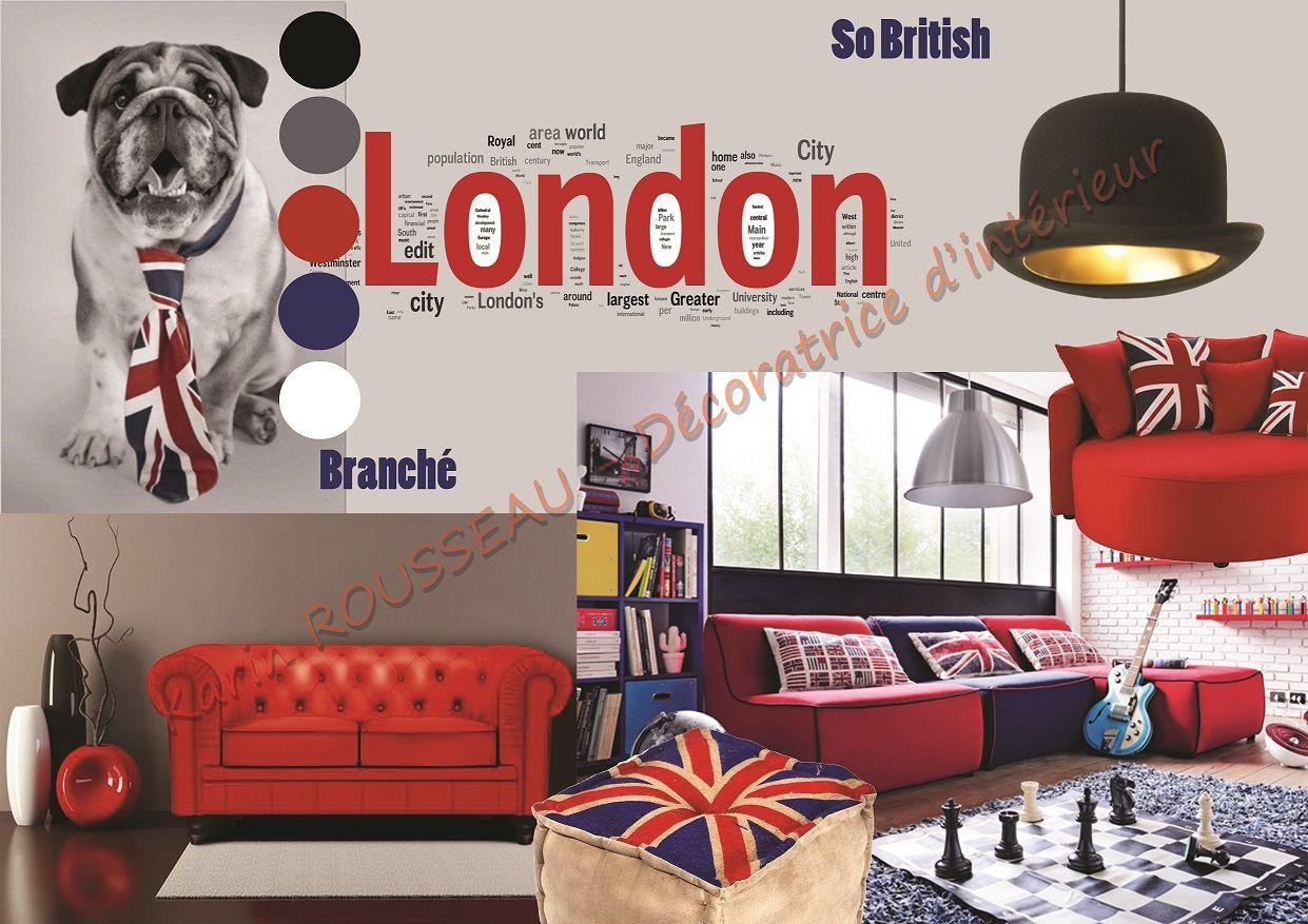 Ambiance Londres (London)  Déco chambre londres, Deco chambre
