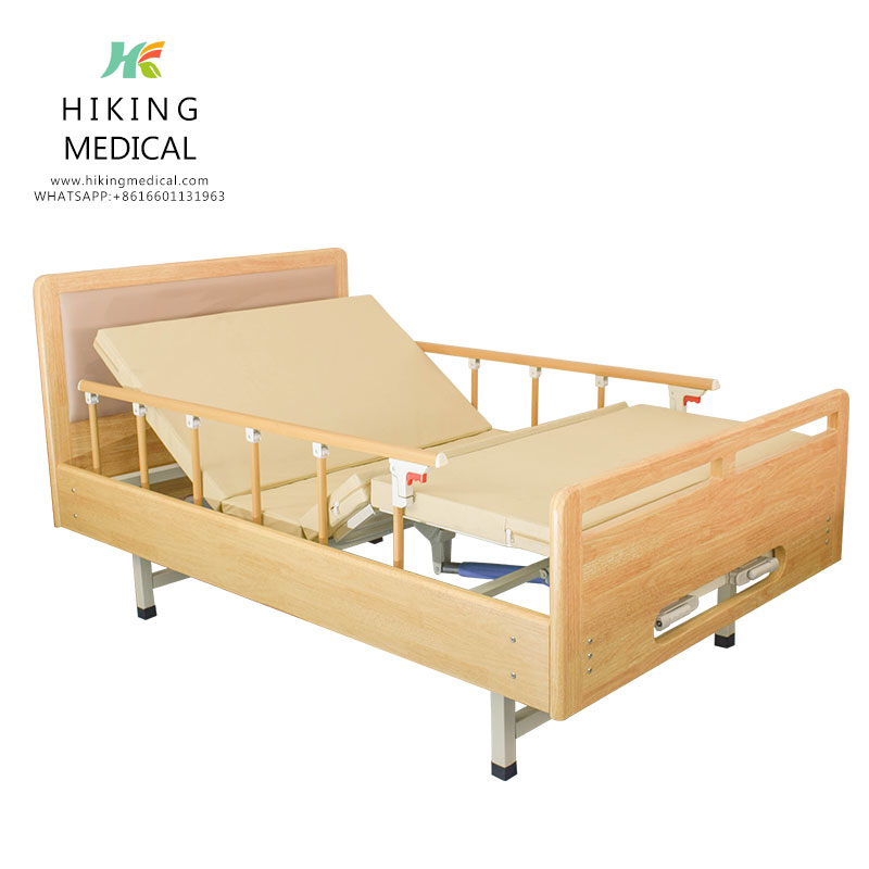 Two Cranks Multifunctional Medical Hospital Beds For Home Use
