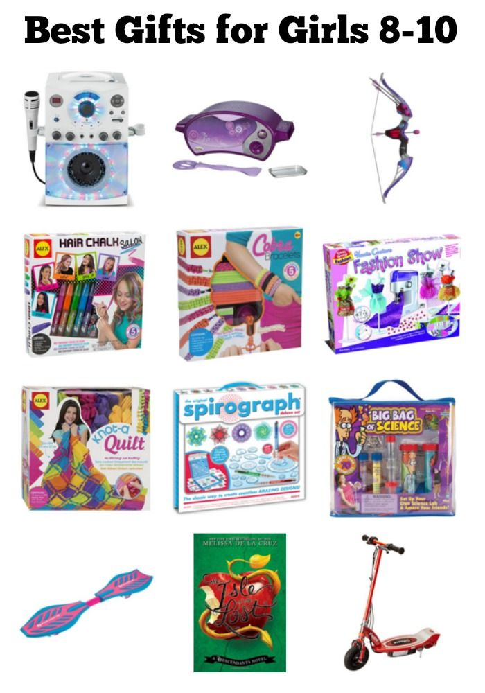 A List Of The Best Gifts For 8 10 Year Old Girls Christmas