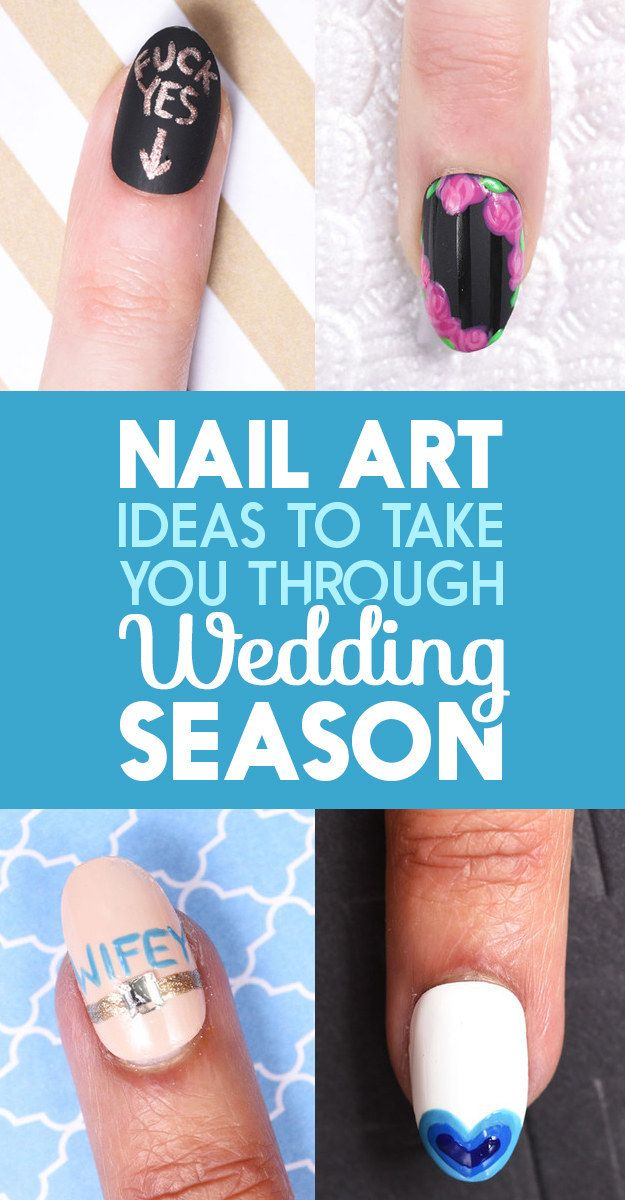 Here's How To Make Your Nails Look Fly AF For A Wedding