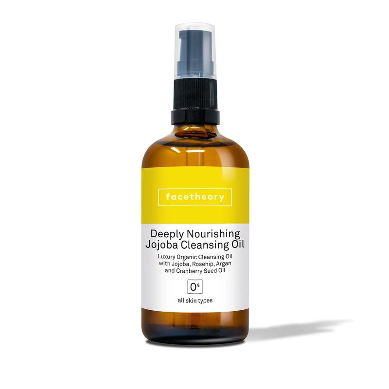 Deeply Nourishing Jojoba Cleansing Oil O4 With Jojoba Rosehip And Argan Oils In 2020 Organic Face Oils Retinol Scar Treatment