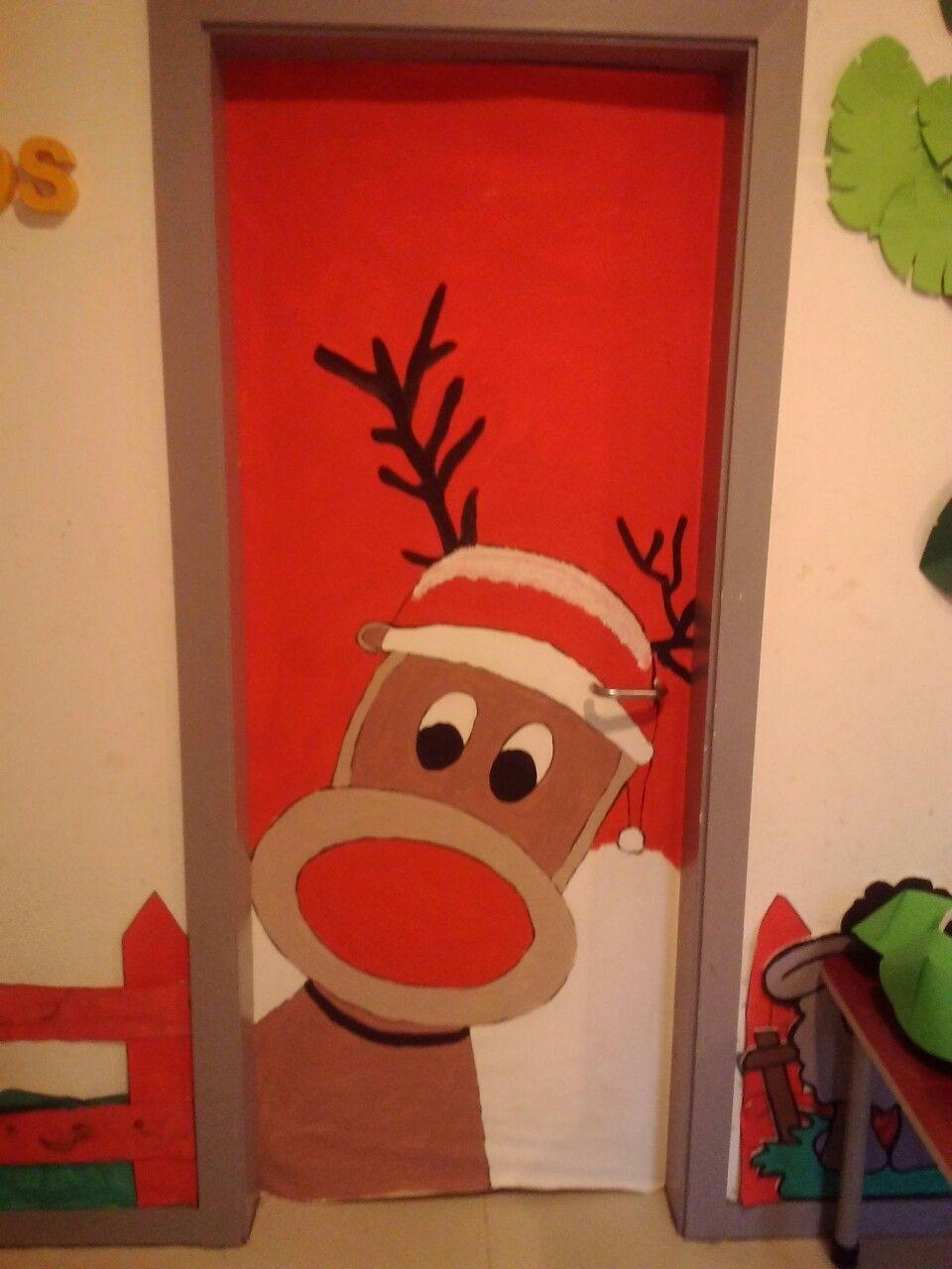 Pin de eliane ficher em decora o de porta pinterest for Decorare la porta dell aula