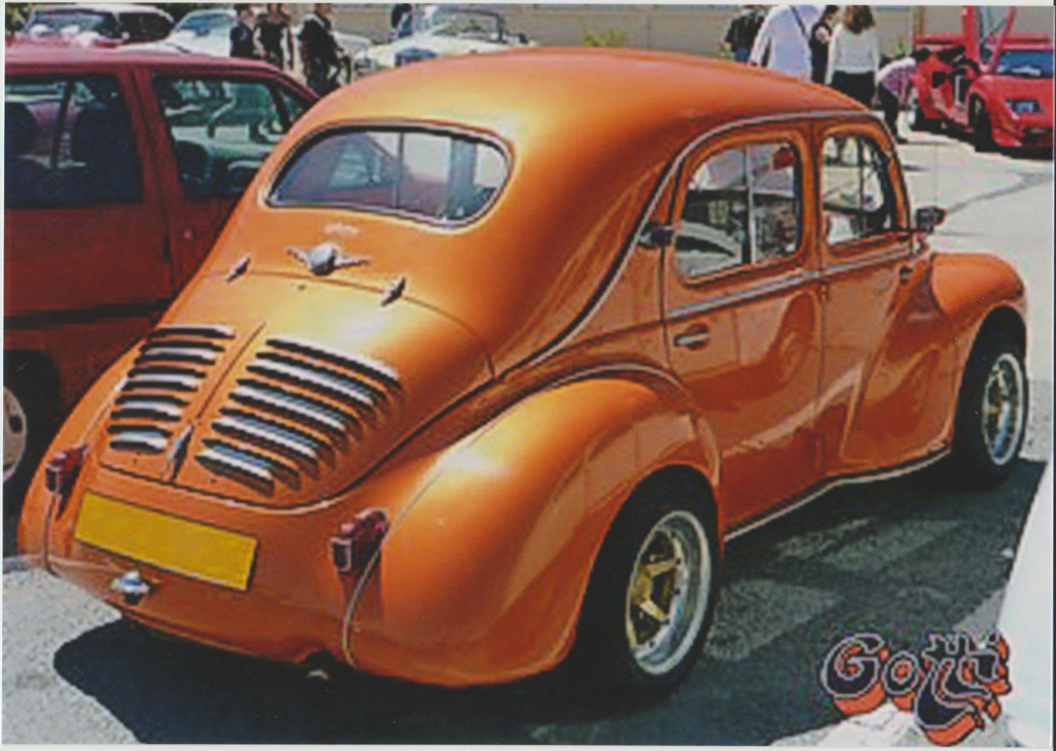 4 Cv Proto Inconnu Voitures Anciennes Voiture Renault Voiture Vintage