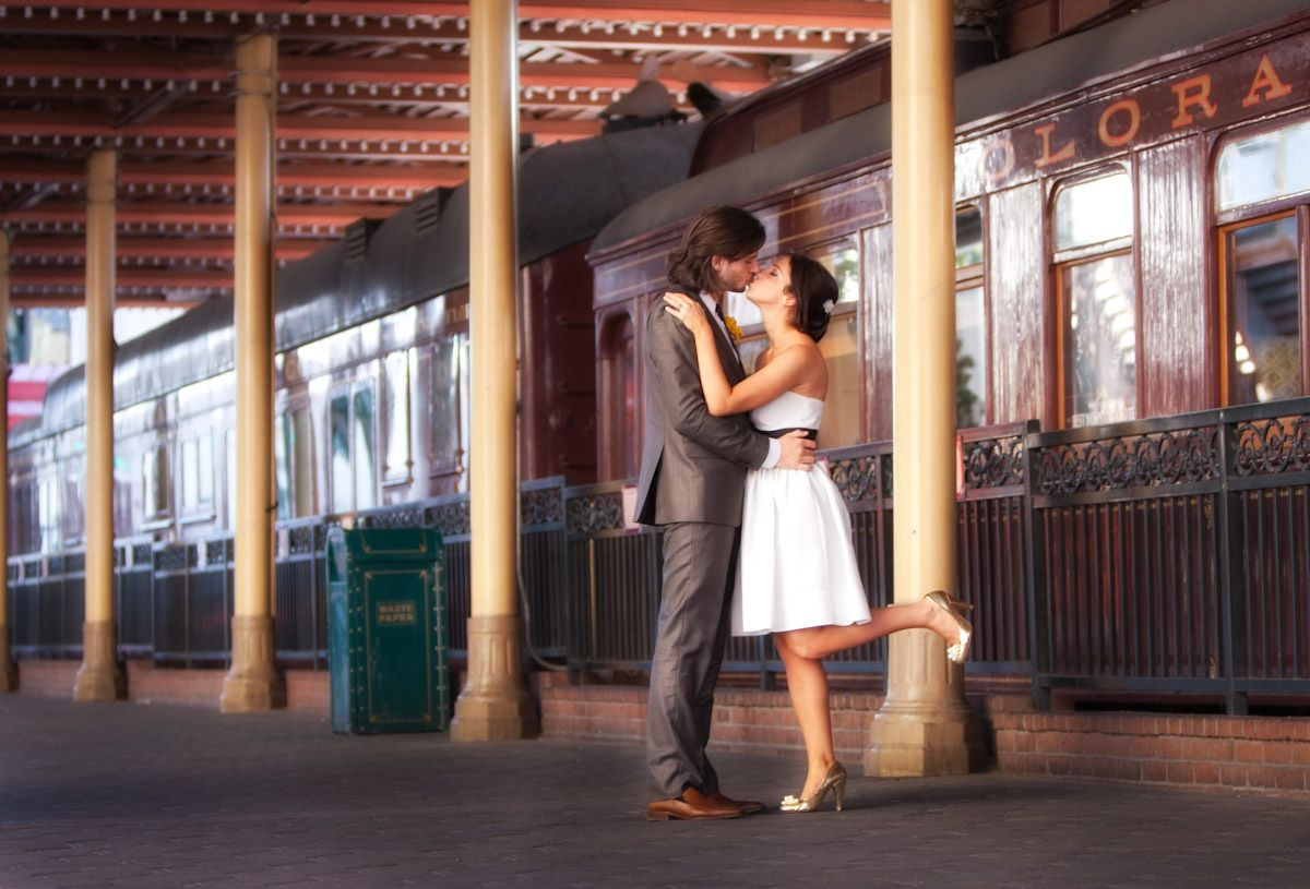 Image result for romantic pictures by the train station