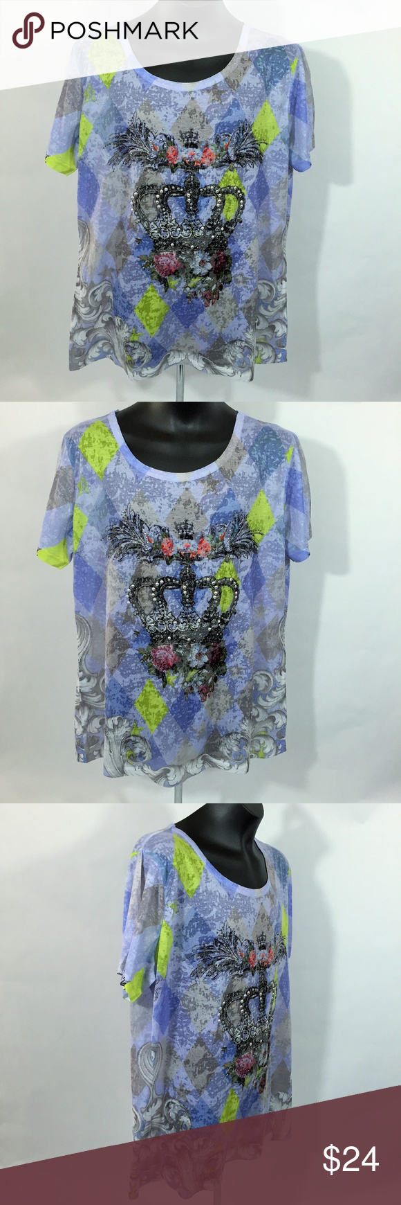 e7c0e38214f Magic e Collection Women s Short Sleeve Blouse Magic e Collection Women s  blouse soft fabric