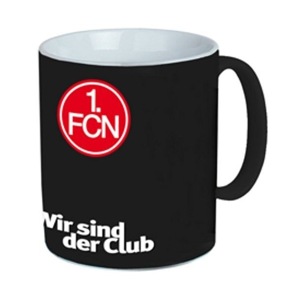 Magic Mug 1. FC Nürnberg - Bundesliga, Haushalt, Küche, Fanartikel, Kaffeebecher - http://www.multifanshop.de