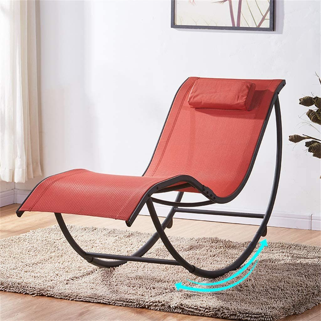 Relax Rocking Chair Sun Lounger Adjustable Recliner for