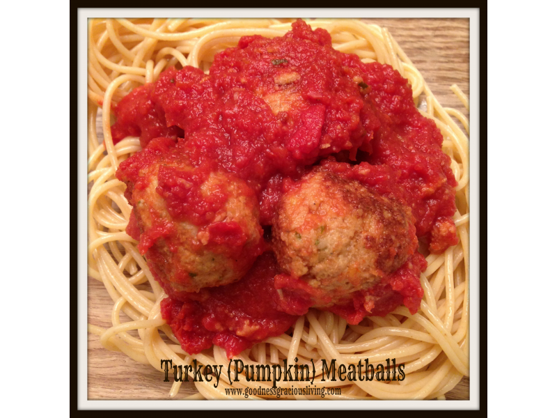 Turkey (Pumpkin) Meatballs:  An Easy and Delicious Way to Sneak in Vegetables - Southbury, CT Patch