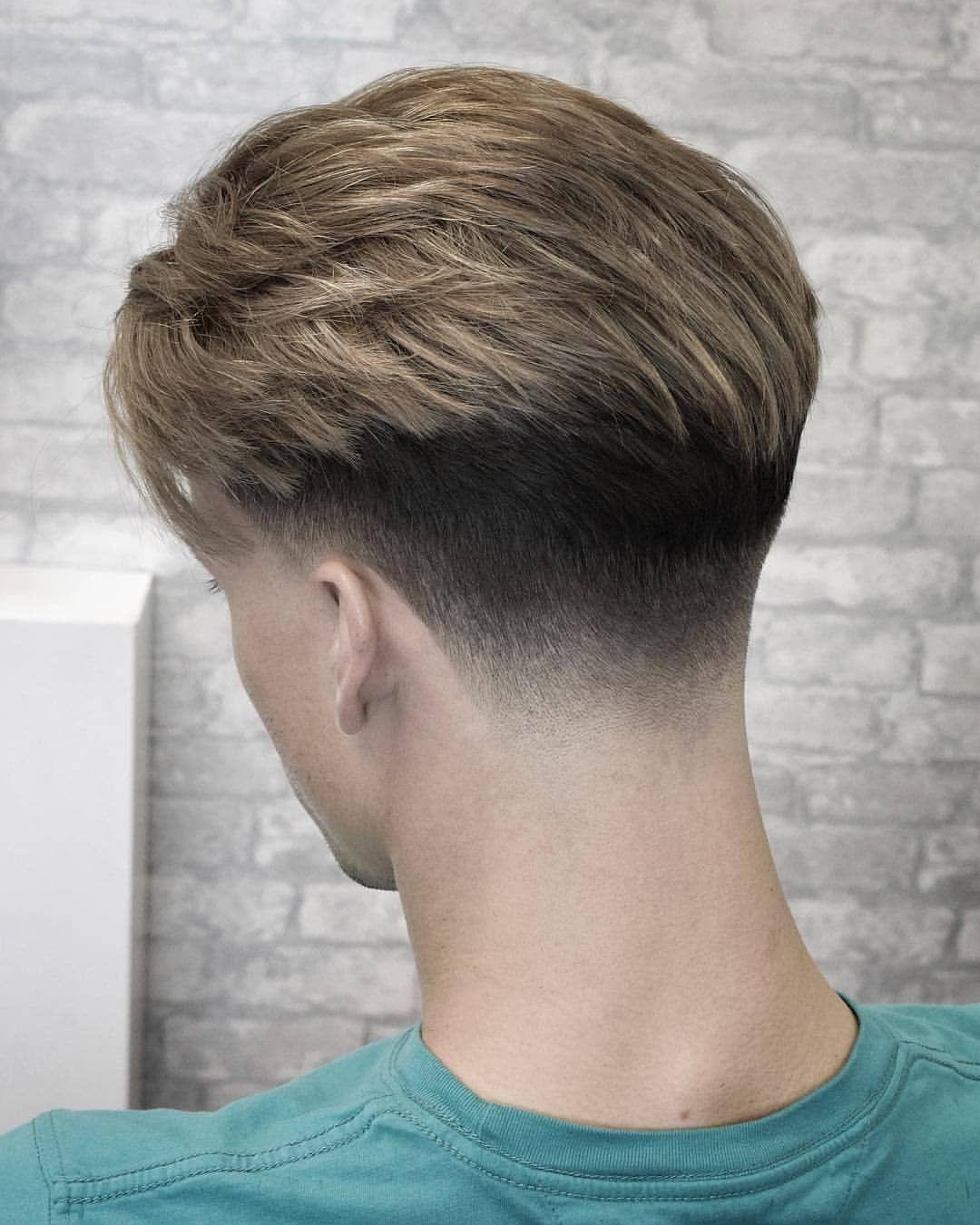 La Imagen Puede Contener Una O Varias Personas Y Primer Plano Men Hair Color Low Fade Haircut Fade Haircut