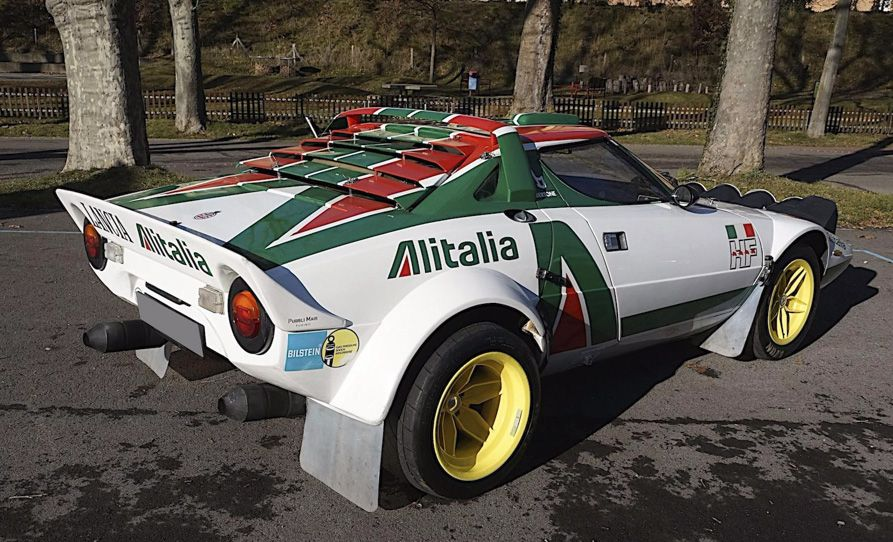 1976 Lancia Stratos Group 4 Coupé Up for Auction